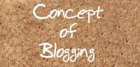 Concept of blogging
