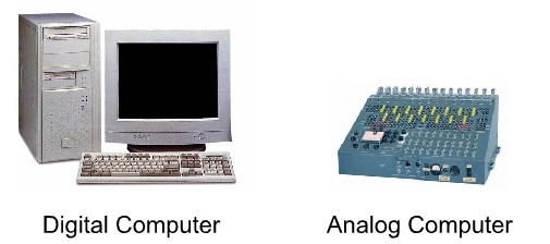 Analog Computer, Digital Computer
