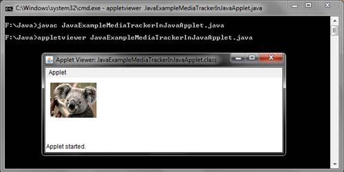 Java MediaTracker Example