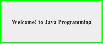 JWindow class in Java Swing Example